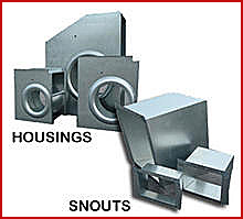 16. Fan Housings & Snouts