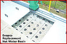 21. Hot Water Basins