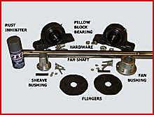 30. Solid Fan Shaft Kits