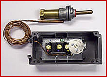 34. Thermostat and Bulb Well