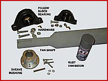 35. Tubular Fan Shaft Kits